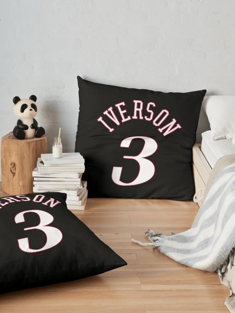Alternate view of Allen Iverson Jersey Floor Pillow