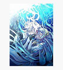 Azura&Corrin - Fire Emblem Fates Photographic Print