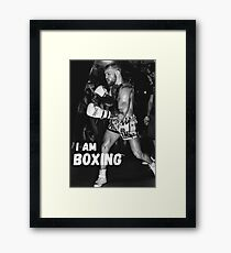 NOTORIOUS  Framed Print