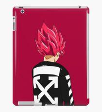 Goku SSJ God Off-White iPad Case/Skin