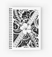 Hawaiian style tribal 2 Spiral Notebook
