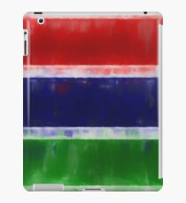 The Gambia Flag Reworked No. 66, Series 1 iPad Case/Skin