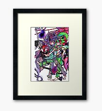 forced fusion Framed Print