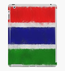 The Gambia Flag Reworked No. 66, Series 3 iPad Case/Skin