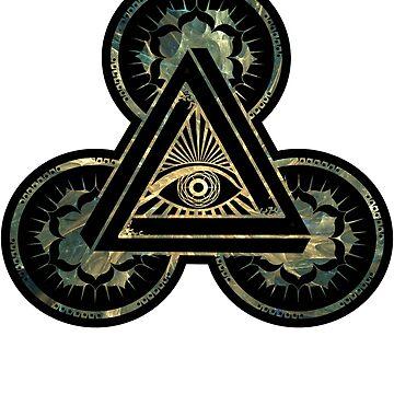 All Seeing Eye Fractal | Illuminati by Slackr