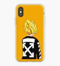 Goku SSJ Off-White iPhone Case