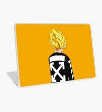 Goku SSJ Off-White Laptop Skin