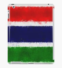 The Gambia Flag Reworked No. 66, Series 5 iPad Case/Skin