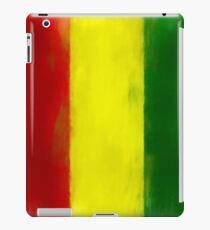Guinea Flag Reworked No. 1, Series 1 iPad Case/Skin
