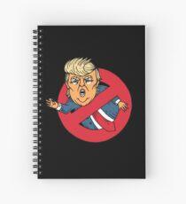 Ecto Trump  Spiral Notebook