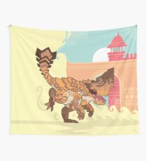 Barroth - The Landslide Wall Tapestry