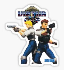 Virtua Cop  Sticker