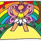 flower fairy by Caroline Munday
