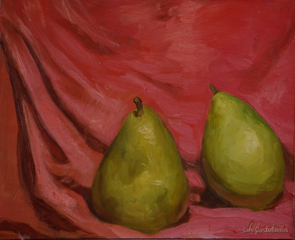 Pears #2 by Les Castellanos