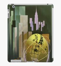 Vintage Poster New York Worlds Fair iPad Case/Skin