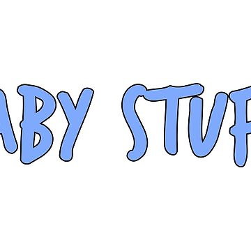 Baby Stuff in Blue by MsThomEGemcity