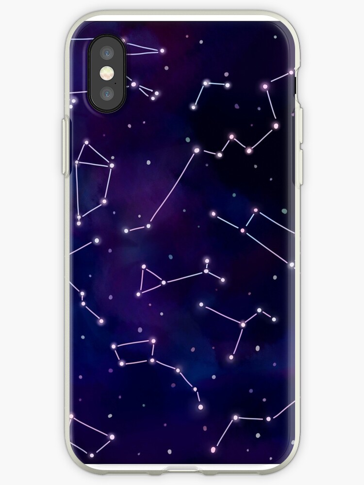 Half-wrapped Case Starry Sky Constellation Case For Iphone8 8plus 7 7plus 6s 6splus 5s Se Case C Phone Hard Cover Case Cellphones & Telecommunications