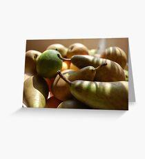 Fruitful Harvest Greeting Card