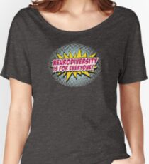 Neurodiversity POW!  Women's Relaxed Fit T-Shirt