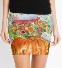 Scarecrow Girl Doll & Pumpkin Mini Skirt