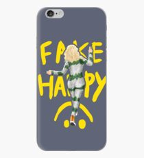 fake happy iPhone Case