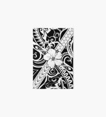 Hawaiian style tribal 2 Art Board