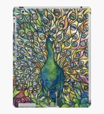 Stained Glass Peacock iPad Case/Skin