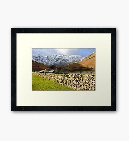 Dry Stone Wall at Wasdale Framed Print