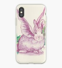 Winged Runaway Bunny iPhone Case