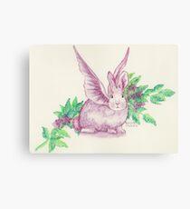 Winged Runaway Bunny Canvas Print