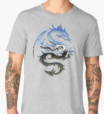 Metal Blue Dragon Men's Premium T-Shirt