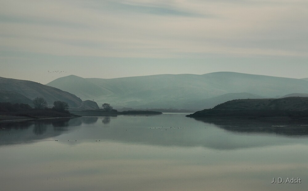 The Mists of Oregon by J. D. Adsit