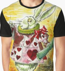 Alice's White Rabbit Graphic T-Shirt