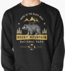 Rocky Mountain National Park Vintage Colorado Bear T Shirt Pullover