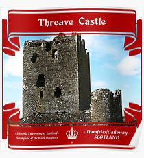 Threave Castle of Scotland Poster