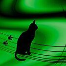 "<º))))>< CAT PRINTS "" Now which Line do i follow?? <º))))><  by ✿✿ Bonita ✿✿ ђєℓℓσ"