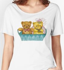 A Beary Nice Wedding Women's Relaxed Fit T-Shirt