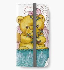 A Beary Nice Wedding iPhone Wallet/Case/Skin