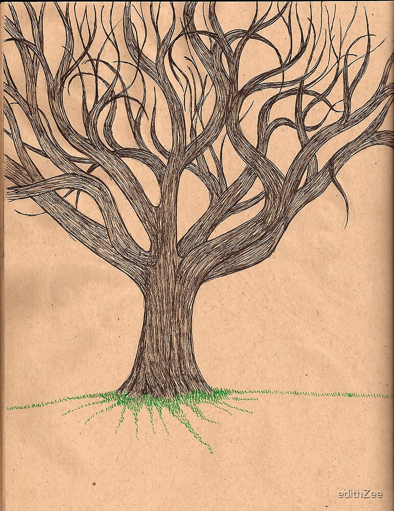 Tree Sketch by edithZee