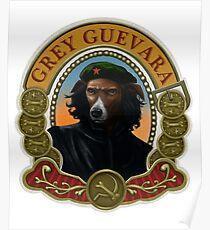 Grey Guevara - Dog of the Cuban Revolution Poster