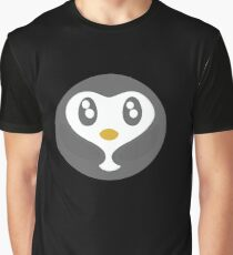 Cute Baby Penguin Ball Graphic T-Shirt