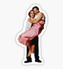 gillian anderson, david duchovny - the x files Sticker