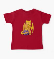 D20 Gold Dragon Baby Tee