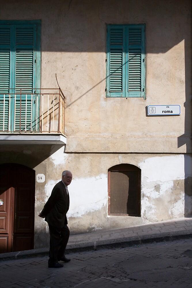 Via Roma by Tony Cicero