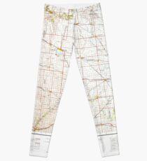 USGS TOPO Maps Iowa IA Fort Dodge 174683 1954 250000 Leggings