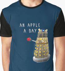 An Apple a Day Keeps the Doctor Away Graphic T-Shirt