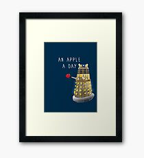 An Apple a Day Keeps the Doctor Away Framed Print