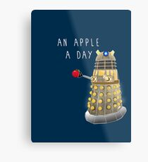 An Apple a Day Keeps the Doctor Away Metal Print