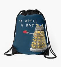 An Apple a Day Keeps the Doctor Away Drawstring Bag