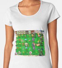 Nintendo vs Zombies Women's Premium T-Shirt
